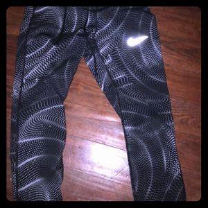 Full length leggings.  Nike